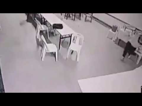 Angry Poltergeist Attack Caught On Camera
