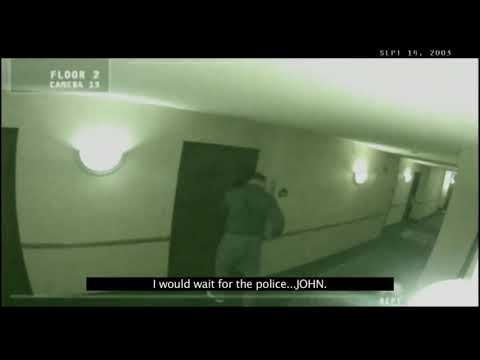 Ghost Sighting Recorded By Hotel CCTV